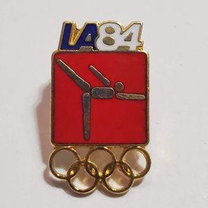 Accessories - Gymnastics Olympic Pin Badge 1984 LA Olympics